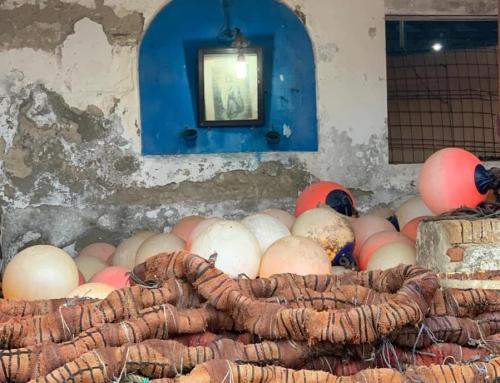 Veneración a la Virgen del Carmen en las almadrabas