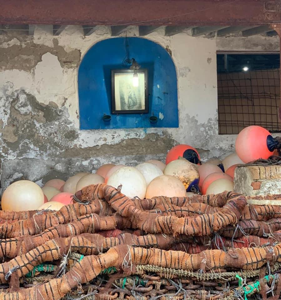 Altar a la Virgen del Carmen