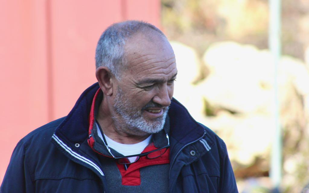 Antonio Ponce, capitán de la almadraba de Conil, durante el primer día de la temporada 2020.